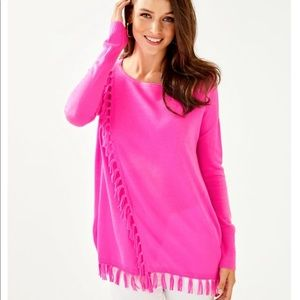 Lilly Pulitzer Sweaters - Lilly Pulitzer Emberly Sweater in Mandevilla Pink